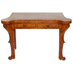 Regency Card Table