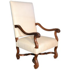 18th Century Italian Walnut Armchair