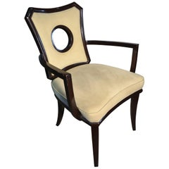 Hollywood Golden Age Mahogany Sunset Plaza Chair