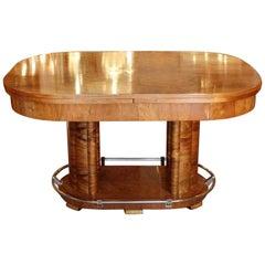 Louis Sognot Art Deco Extending Table