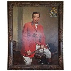 British Portrait by Frank Owen Salisbury of Sidney Shephard Esq