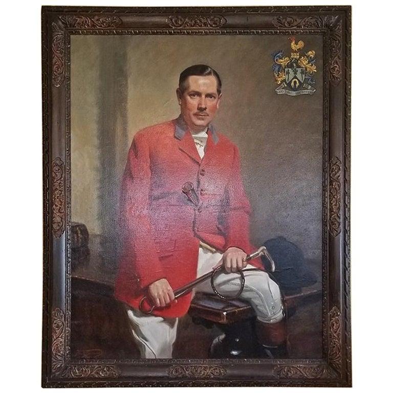 British Portrait by Frank Owen Salisbury of Sidney Shephard Esq For Sale