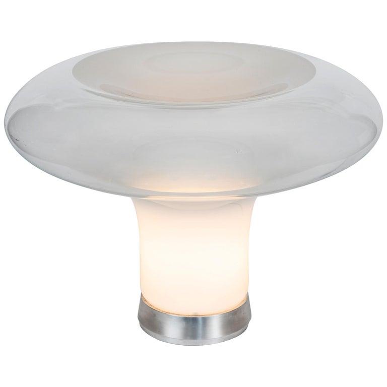 Large 1960s Angelo Mangiarotti 'Lesbo' Table Lamp for Artemide