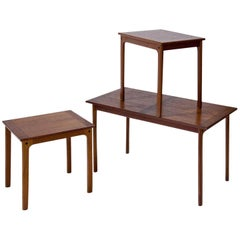 Side Tables, Probably Scandinavia, Mid-20th Century