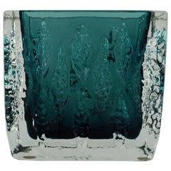 Art Glass Vase in Green, Designed in the 1960s-1970s