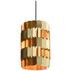 Brass Facet Pendant by Lyfa, Denmark