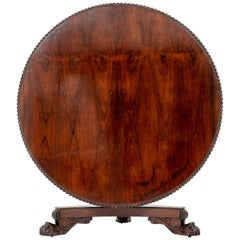 Early 19th Century Circular Breakfast Table