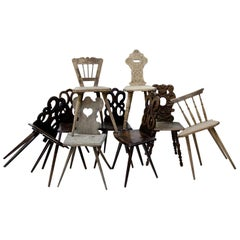 Softwood Chairs, 19th Century