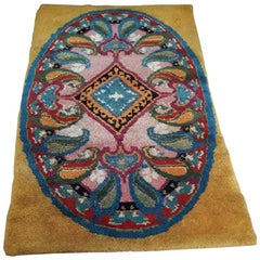Art Deco Rug in Wool, circa 1940