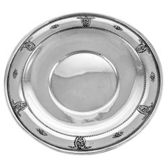 Rose Point Sterling Plate