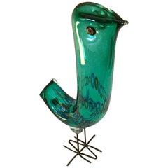 Alessandro Pianon for Vistosi Murano Pulcino Bird