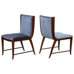Rare Pair of Side Chairs by Paolo Buffa