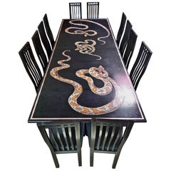 Def Leppard Snake Table FBT Joe Elliott