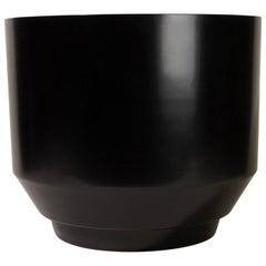 Spun Planter, Black
