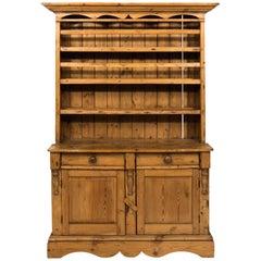Irish Scrub Pine Cupboard