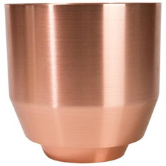 Spun Planter, Copper