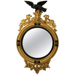 Federal Style Fish Eye Mirror