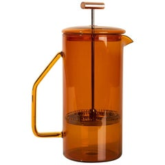 850 mL Glass French Press, Amber