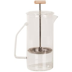850 mL Glass French Press, Clear
