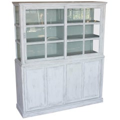 Substantial English Bookcase or Cabinet