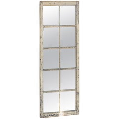 Antique Mirrored French Windows