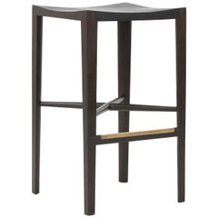 """Quarter Round Counter Stool"" by Christopher Kurtz"