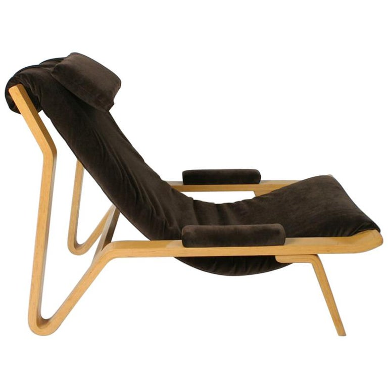 Rare Pair of Harvey Probber Sling Chair, circa 1948 For Sale