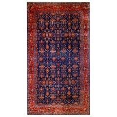 Beautiful 19th Century Antique Kashan Rug