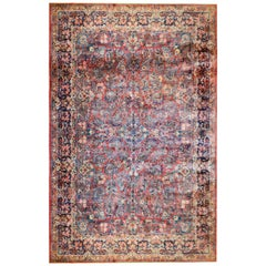 Fantastic Early 20th Century Antique Sarouk Rug