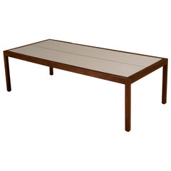 Vintage Walnut Knoll Coffee Table by Lewis Butler