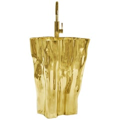 Brabbu Eden Free Stand in Gold Plated Aluminum