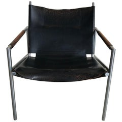Vintage Dutch Lounge Chair Sz02 by Martin Visser for 'T Spectrum, 1960