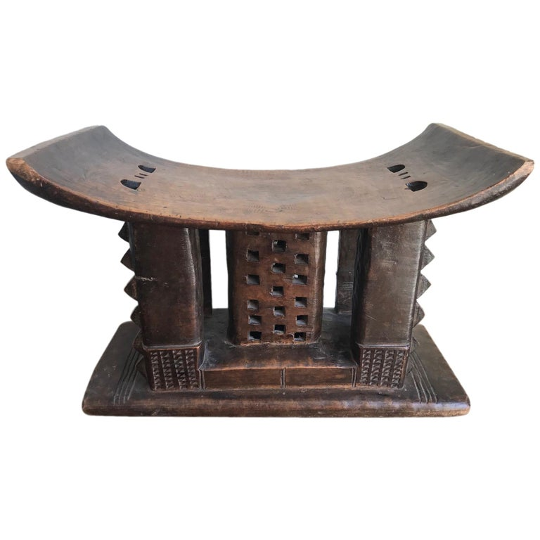 Ashanti or Asante Tribal Stool
