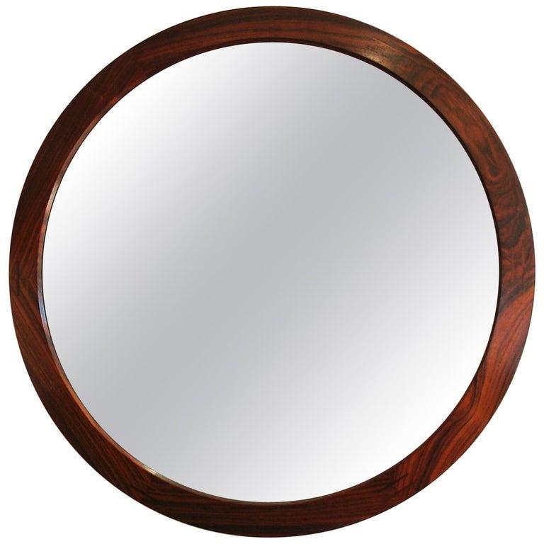 Danish Rosewood Mirror