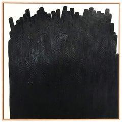 John O'Hara, Tar, 34, Encaustic Painting