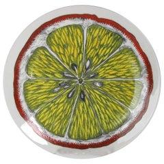 Piero Fornasetti Sezioni Frutta Plate, #1, 1960s