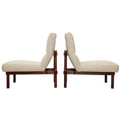 Rare Pair of 869 Lounge Chairs by Ico & Luisa Parisi