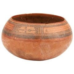 Pre-Columbian Costa Rican Nicoya Pottery Bowl