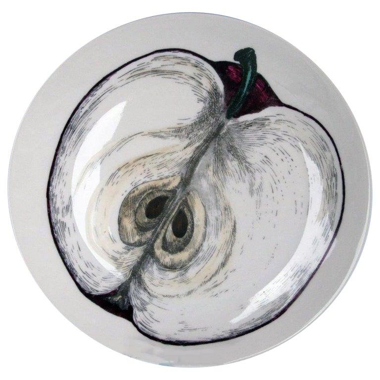 Piero Fornasetti Sezioni Frutta Plate #3, 1960s