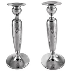 Sterling Candlesticks, 1941