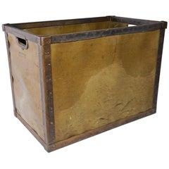 Large Vintage Mail Bin