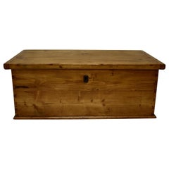 Pine Trunk or Blanket chest