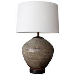 1960s Ceramic Vase Table Lamp