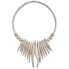 Decorative Cuttlebone Necklace from Bali