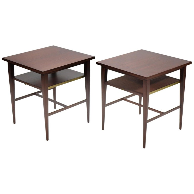 Paul McCobb Model 1047 Nightstands or End Tables by Calvin