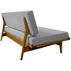 Rare 1960s Daybed by Karl-Erik Ekselius for Joc Sweden, Scandinavian Modern