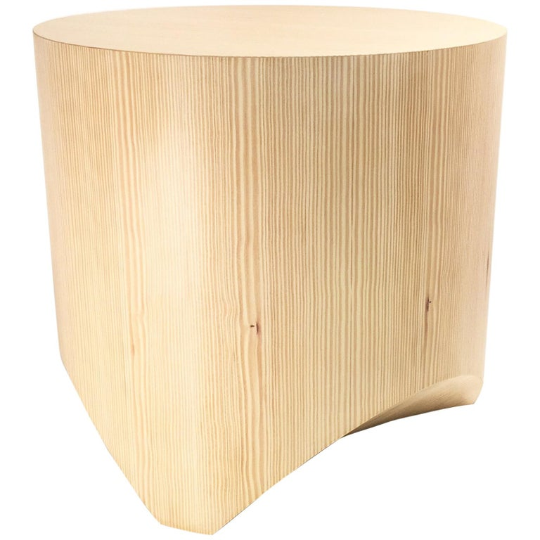 """Stool from the """"Barrens"""" Modernist Tree Stump Collection by William Earle"""