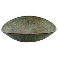 Large Arne Bang Ceramic Bowl, Danish Design, Mid-20th Century