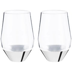 Puiforcat Orfevre Sommelier Set of Two Red Wine Glasses by Michael Anastassiades