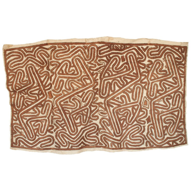Mid-20th Century Tapa Cloth, Papua New Guinea